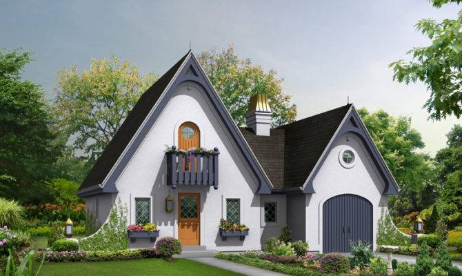 Cotswold Cottage Home Plan House Plans More