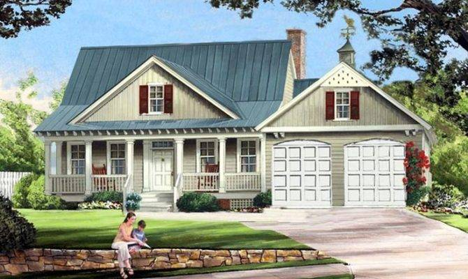 Cottage Country Farmhouse House Plan