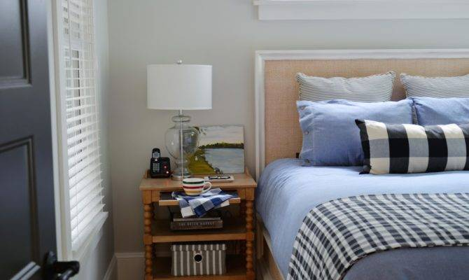 Cottage Diaries Modern Preppy Country Bedroom