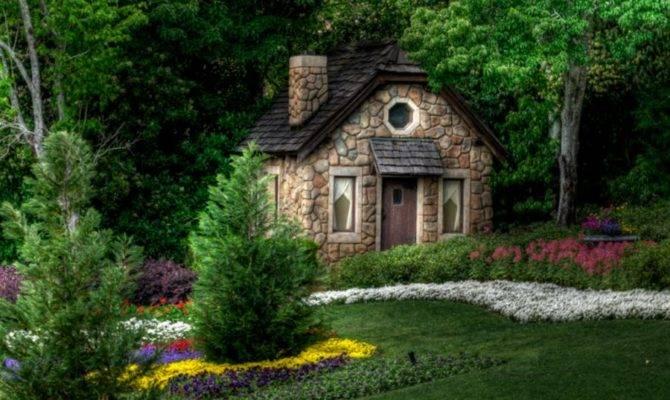 Cottage Forrest House Hansel Gretel