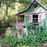 Cottage Garden Sheds Potted Plants All Seasons