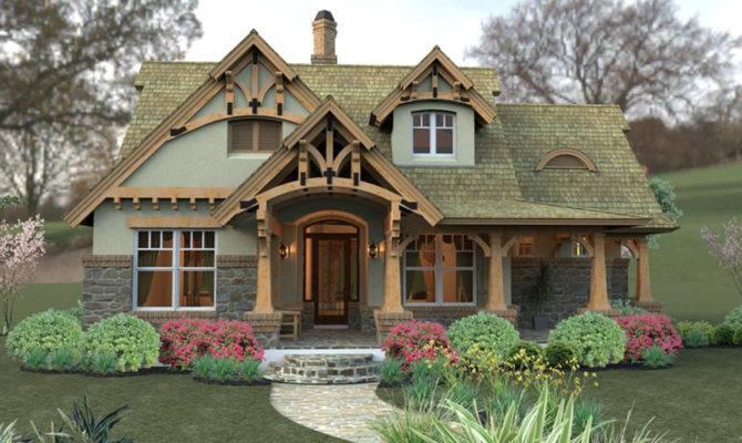 Cottage Hides Date Layout Informal Modern Living Plan