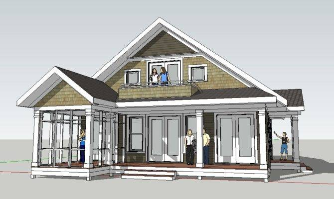 Cottage Home Design Could Serve Great Mountain Cabin Plan