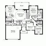Cottage House Plan Beautiful Functional One Level Home