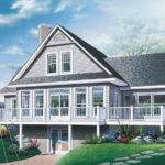 Cottage House Plan Front Plans More