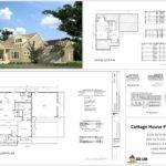 Cottage House Plans Autocad Dwg Pdf Sds