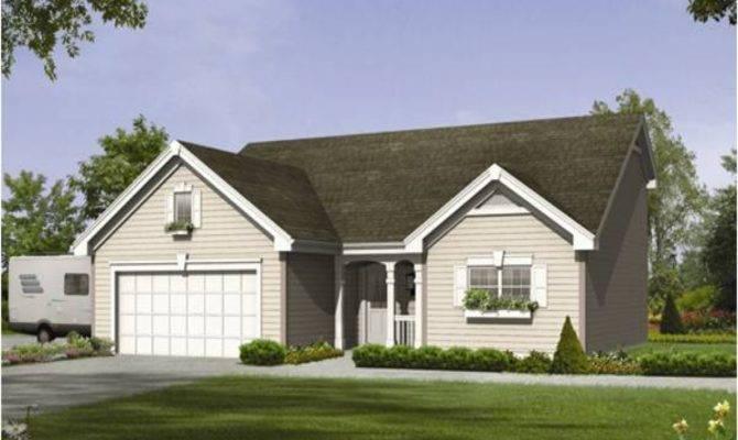Cottage House Plans Car Garage
