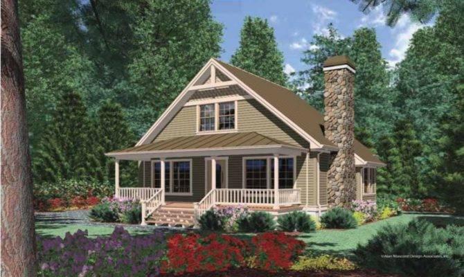 Cottage House Plans Porches Cabin