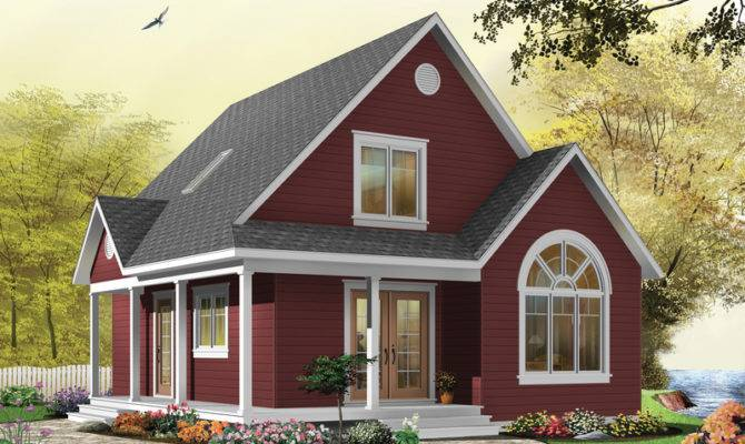 Cottage House Plans Square Foot Loft