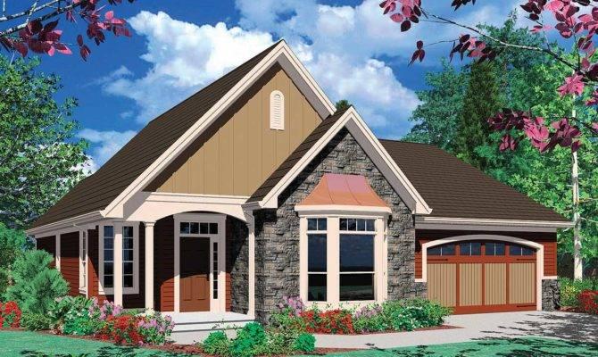 Cottage Plan Bay Window Architectural