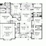 Cottage Plan Foot Cabins Square