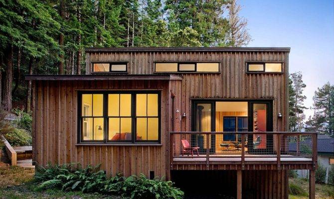 Cottage Redwoods Cathy Schwabe Small House Bliss