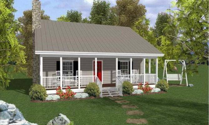 Cottage Small Affordable House Plans Home