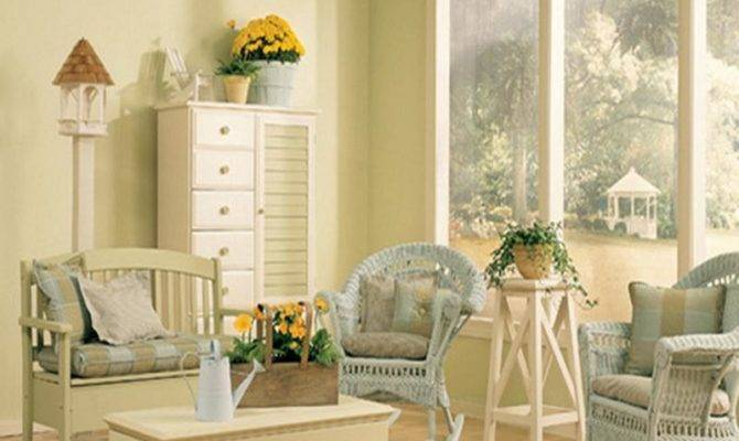 Cottage Style Interior Decorating Country