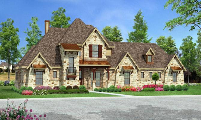 Cottage Style Lounge Downward Sloping Lot House Plans