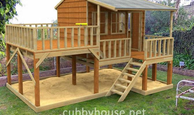 Country Cottage Cubby House Australian Made Backyard Playground