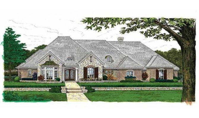 Country Cottage House Plans French One