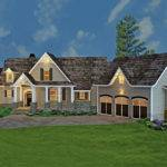 Country Craftsman Home Photos Bedrooms Plan