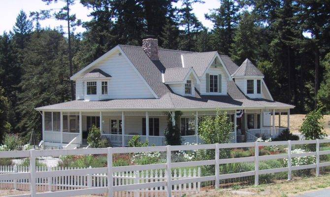 Country Farmhouse Plans Wrap Around Porch