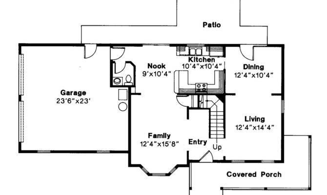 Country Floor Plans Porches
