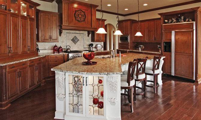 Country French House Plan Kitchen