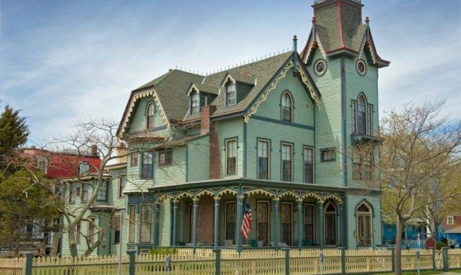 Country Home Designs Green Wall Beautiful Details Victorian House