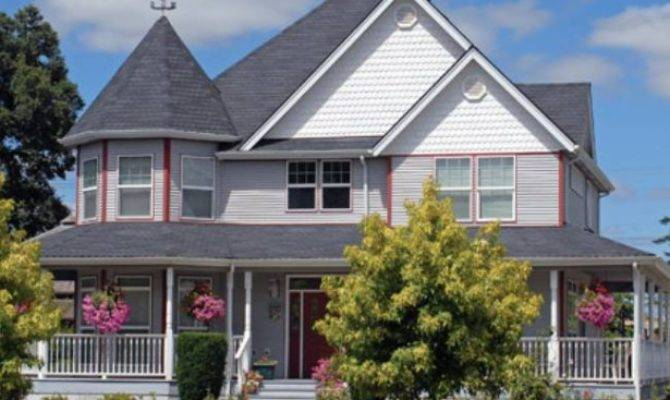 Country Home Designs Victorian House Style Classic