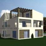 Country House Greece Cad Model Library Grabcad