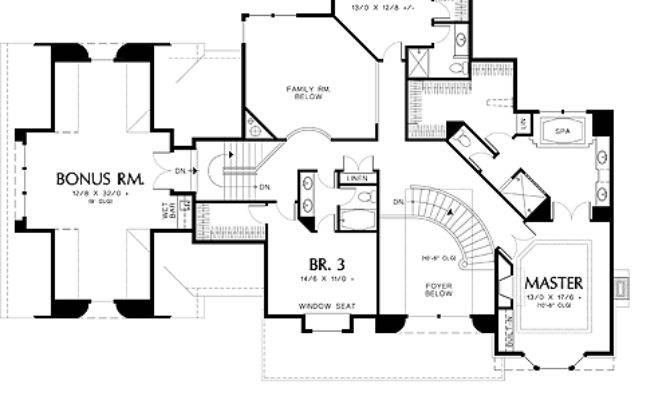 Country House Plan Bedrooms Baths