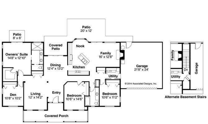 Country House Plan Redmond Floor