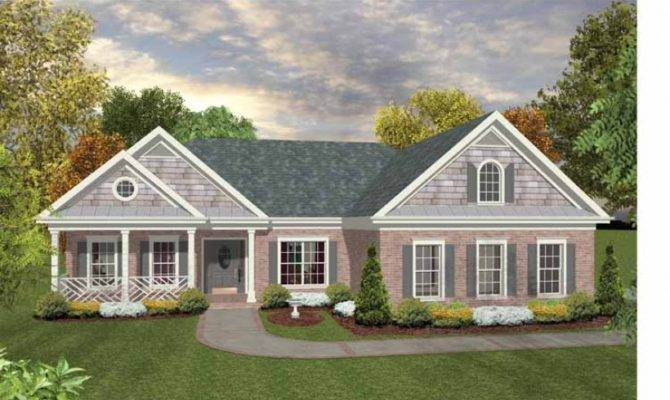 Country House Plan Striking Distinctive Ranch Square Feet