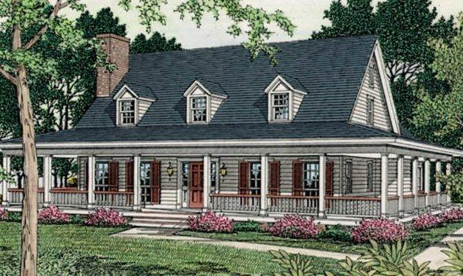 Country House Plans Porches One Story Porch Designs Ideas