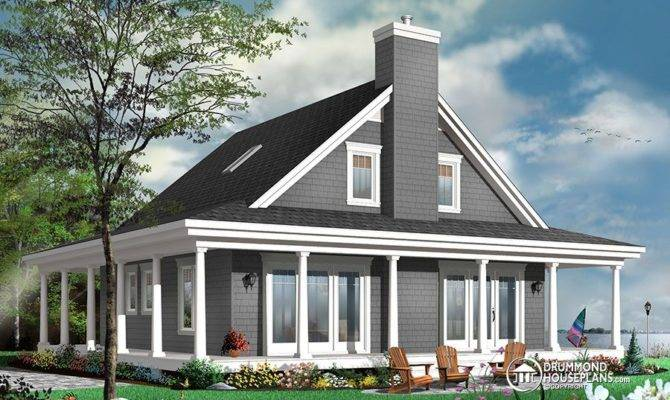 Country Rustic House Plan Drummond Plans