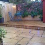 Courtyard Decking Garden Solutions Pinterest