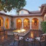 Courtyard Houses Style Dream Fountain Patio Homes Courtyards