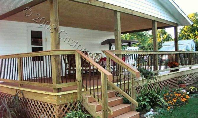 Covered Deck Design Votes Home Plans