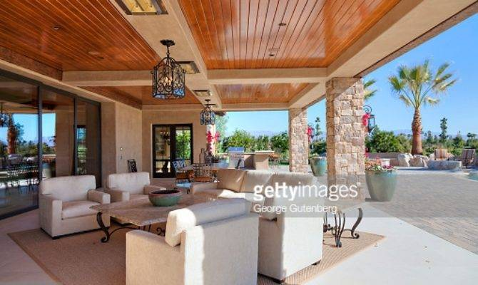 Covered Lanai Wooden Ceilings Getty