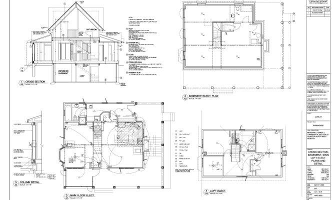 Cowley Residence Plans Detail Drawings