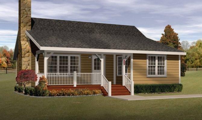 Cozy Cottage Home Plan Floor Master Suite