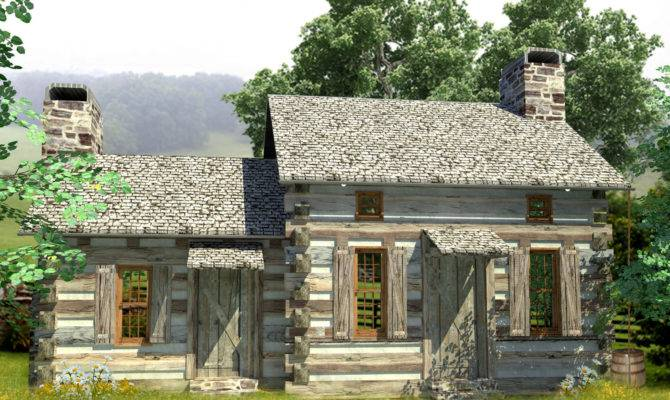 Cozy Log Cabin Architectural Designs House Plans