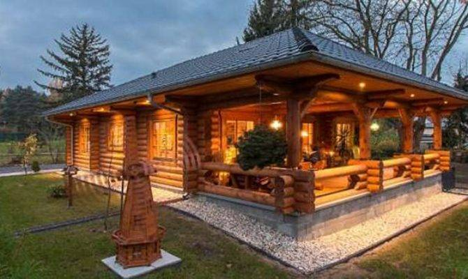 Cozy Log Cabin Floor Plan Homes Life