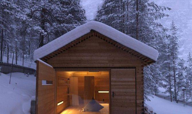 Cozy Mountain Cabin Can Open Elements