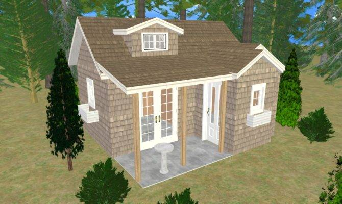Cozy Shed Home Plans