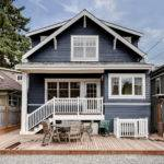 Craftsman Blue Addition Home