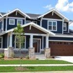 Craftsman Blue Exterior Home Design Ideas Remodels Photos