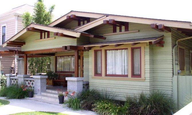 Craftsman Bungalow Architectural Styles America