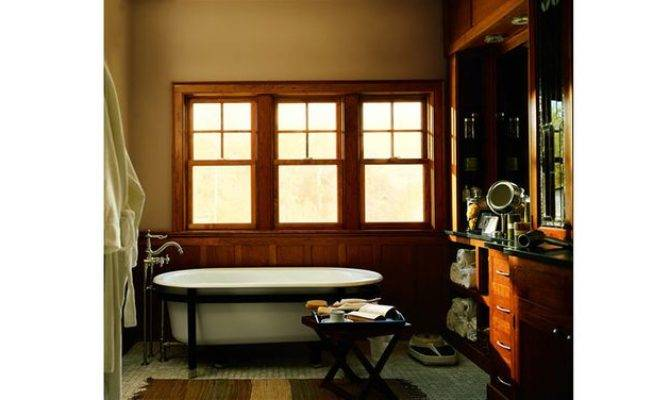 Craftsman Bungalow Bathroom Example Windows Like