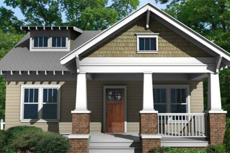 Craftsman Bungalow Home Pinterest