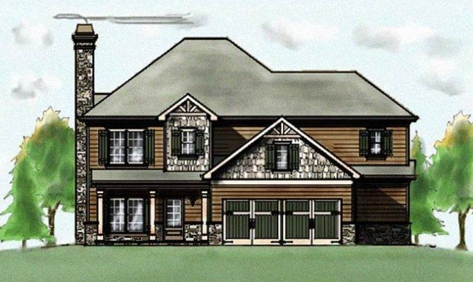 Craftsman Bungalow House Plans Garage