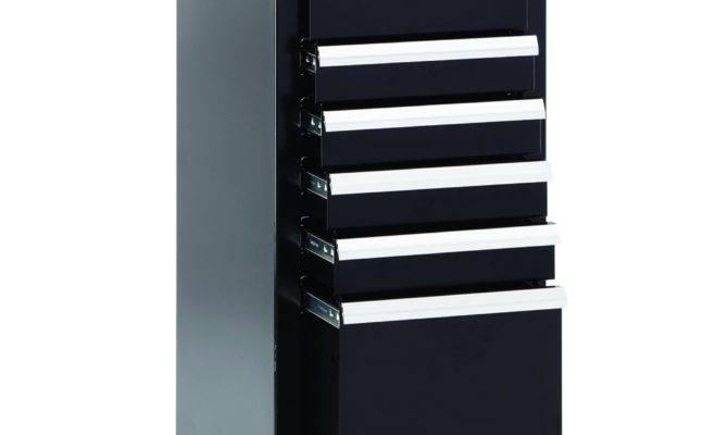 Craftsman Drawer Premium Heavy Duty Side Cabinet Black